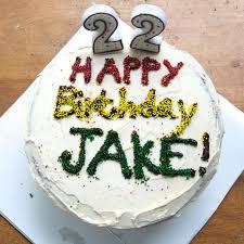 the ginger cook jake u0027s 22nd birthday cake chocolate cake with