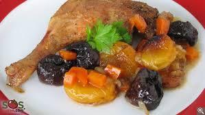 cuisiner cuisse de canard cuisses de canard braisées aux fruits séchés