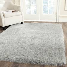 Karolus Area Rug Floors U0026 Rugs Beautiful White Furry 4x6 Rugs For Luxury Livig
