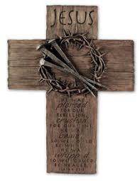 wooden wall crosses crown of jesus wall cross large christianbook