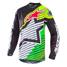 alpinestar motocross gear alpinestars racer braap le vegas jersey jerseys dirt bike