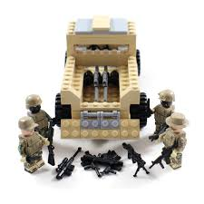 lego army jeep army pickup truck and us marine minifigures and 50 similar items