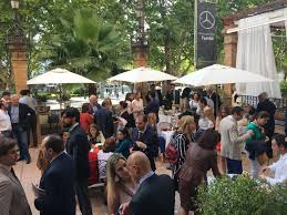 presentation of luxury spain at the alfonso xiii hotel in seville