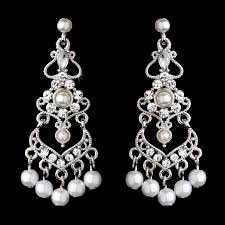 pearl chandelier stress away bridal jewelry boutique and white