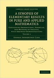 a synopsis of elementary results in and applied mathematics