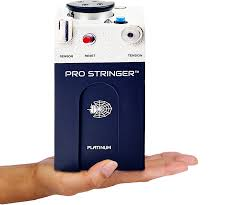 pro machine pro stringer the world s smallest electronic stringing machine