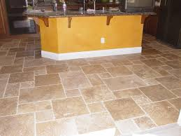 Travertine Kitchen Floor by Tile Floors Noce Versailles Travertine Pattern The Gold Island