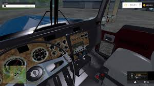 w900l kenworth w900l truck v1 0 farming simulator 2017 2015 15
