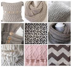 knitting patterns trending cushions cowls and throws