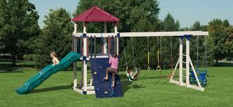kids backyard playsets custom swing sets