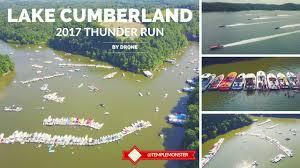 Lake Cumberland Map 2017 Lake Cumberland Thunder Run By Drone Youtube