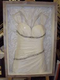 wedding dress shadow box has anyone thought about framing their wedding dress after the big