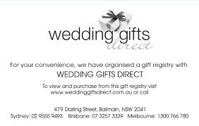 wedding registry inserts sle wording for wedding gift registry imbusy for
