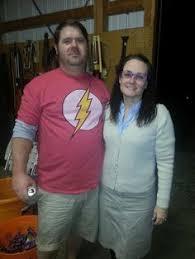 Sheldon Cooper Halloween Costume U0027s Anchor Julie Donaldson Tech Crew Member Elmer