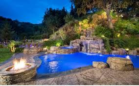 Garden Pool Ideas Garden Pool And Fireplace Assemble 15 Ideas Fresh Design Pedia