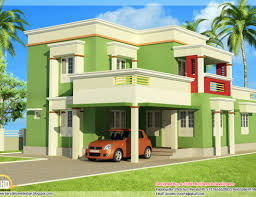 modern garage plans roof sqft bhk modern sloping roof kerala villa design and