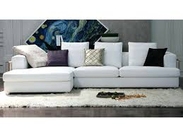la maison du canapé la maison du canape canapac tissu angle blanc cocoon la maison du