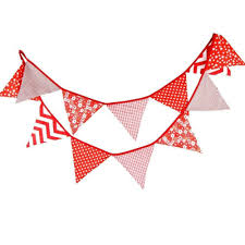 Banners Flags Pennants 3 3 M Triangle Pennant Flags Vintage Bunting Floral Cotton Banner