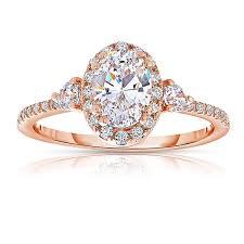 engagement rose rings images Rm1345vrs 14k rose gold oval cut halo diamond engagement ring jpg