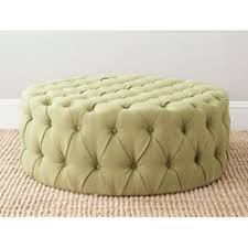 Safavieh Home Furnishing Safavieh Home Furniture Sweet Pea Green Ottoman Green Ottoman
