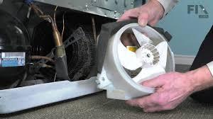 ge refrigerator fan motor ge repair refrigerator how to replace the condenser fan motor