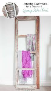 upcycled home decor ideas upcycled farmhouse window frame new use for a treasured yardsale