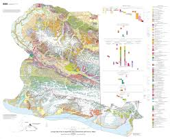 Alaska County Map by Wildly Colorful Geologic Maps Of National Parks And How To Read