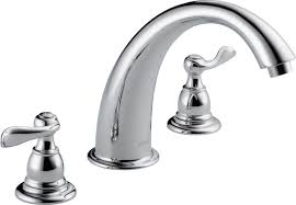 Delta Linden Bathroom Faucet by Delta Windemere Double Handle Deck Mount Roman Tub Faucet Trim