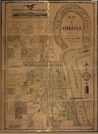 Dead Frontier Map 1878 Map Of Omaha Omaha Public Library Antique Maps 1700s