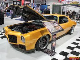 custom 71 camaro sema 2014 car fix 1971 chevrolet camaro genho