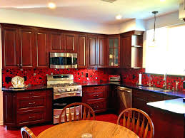 red kitchens red backsplash tiles red kitchen tiles bathroom interesting red