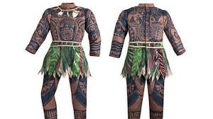 Water Halloween Costume Disney Water Moana U0027brown Skin U0027 Halloween Costume