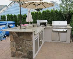 Outside Kitchen Design by L Shaped Outdoor Kitchen Ideas The Drawbacks Of Having An L