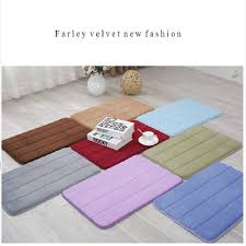 Bathroom Mats Set by Aliexpress Com Buy Suede Rugs Carpets Bathroom Mat Silicone