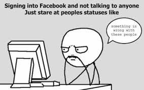 Funny Memes On Facebook - most people on facebook are just lurkers memebase funny memes