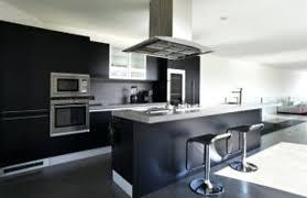 cuisine ouverte avec bar sur salon design d intérieur model de cuisine americaine indogate salon