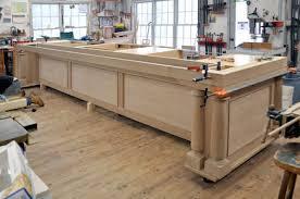 building your own kitchen island a big kitchen island by dan mosheim lumberjocks com