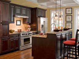 findley u0026 myers palm beach dark chocolate kitchen features solid
