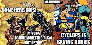 Wolverine Picture Meme - heroclix world monday memes