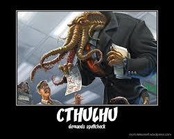 Cthulhu Meme - cthulhu is a grammar nazi meme by hixon40 memedroid