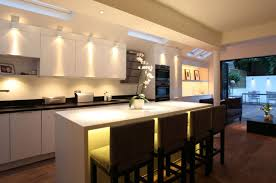 Bright Ceiling Lights For Kitchen Indulging Led Kitchen Lighting Along With Singapore Ideas With