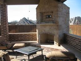 Outdoor Covered Patio by Covered Patio Fireplace Rolitz