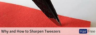 why and how to sharpen tweezers hair free life