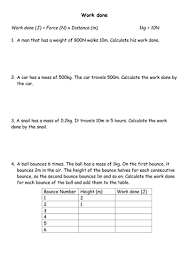 force and motion gcse by bliadhan teaching resources tes