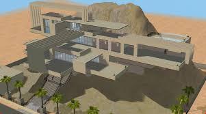 mod modern cliffside house