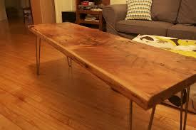 reclaimed doug fir hairpin leg bench by chris p lumberjocks