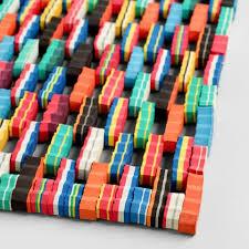 Flip Flop Rugs Multicolor Flip Flop Doormat World Market