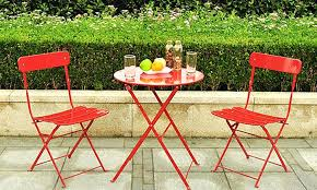 Metal Folding Bistro Chairs Folding Bistro Table Set Outdoor Gorgeous Bistro Chairs And Table
