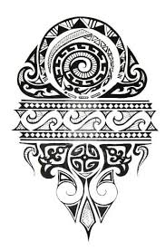 Shoulder Design - black polynesian design for shoulder ideas
