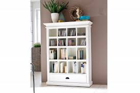 White Open Back Bookcase by Useful White Bookcase With Doors Home Design By John